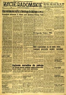Życie Radomskie, 1956, nr 1