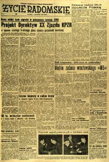Życie Radomskie, 1956, nr 13