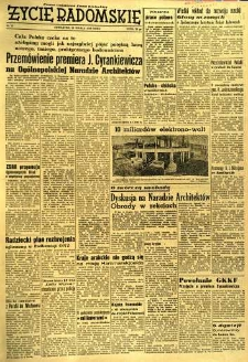 Życie Radomskie, 1956, nr 75
