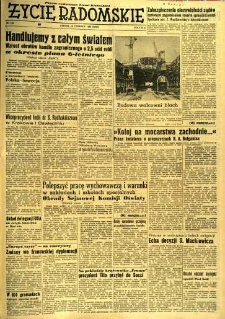Życie Radomskie, 1956, nr 142