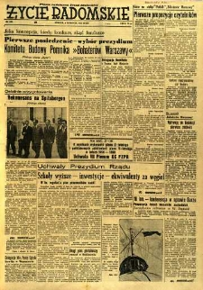 Życie Radomskie, 1956, nr 185