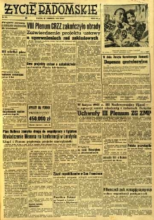 Życie Radomskie, 1956, nr 202
