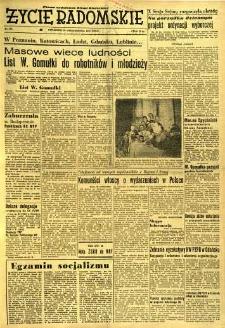 Życie Radomskie, 1956, nr 255