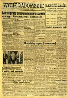 Życie Radomskie, 1956, nr 258