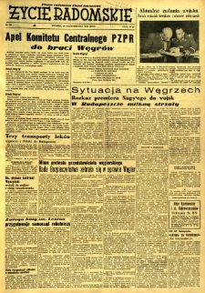 Życie Radomskie, 1956, nr 259