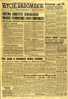 Życie Radomskie, 1956, nr 263