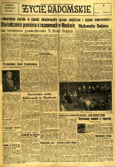 Życie Radomskie, 1956, nr 279