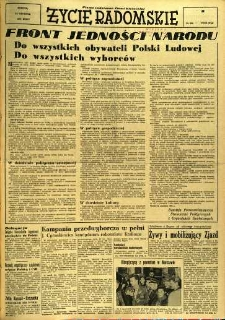 Życie Radomskie, 1956, nr 299