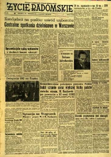 Życie Radomskie, 1956, nr 309