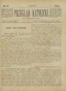 Przegląd Katolicki, 1890, R. 28, nr 45