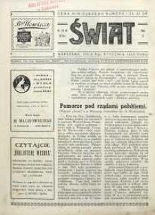 Świat, 1926, R. 21, nr 2