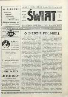 Świat, 1926, R. 21, nr 5