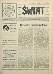 Świat, 1926, R. 21, nr 16