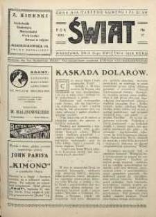 Świat, 1926, R. 21, nr 17