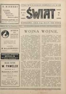 Świat, 1926, R. 21, nr 19