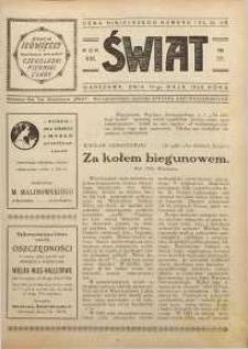 Świat, 1926, R. 21, nr 20