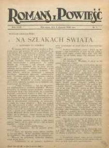 Romans i Powieść, 1926, R. 18, nr 1