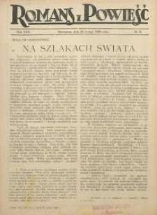 Romans i Powieść, 1926, R. 18, nr 8