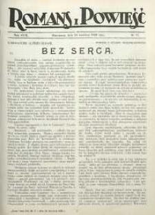 Romans i Powieść, 1926, R. 18, nr 17