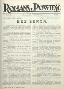 Romans i Powieść, 1926, R. 18, nr 18
