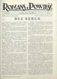 Romans i Powieść, 1926, R. 18, nr 19