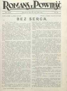Romans i Powieść, 1926, R. 18, nr 22