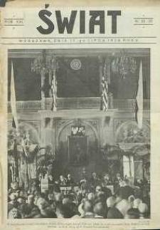 Świat, 1926, R. 21, nr 28/29