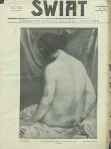 Świat, 1926, R. 21, nr 30