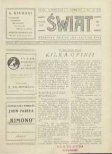 Świat, 1926, R. 21, nr 45
