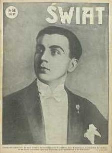 Świat, 1926, R. 21, nr 50