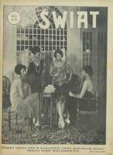 Świat, 1926, R. 21, nr 51