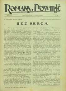 Romans i Powieść, 1926, R. 18, nr 34