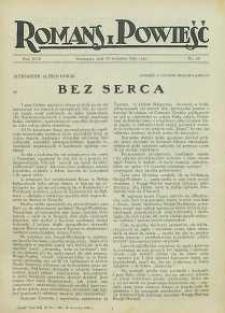 Romans i Powieść, 1926, R. 18, nr 38