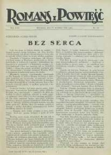 Romans i Powieść, 1926, R. 18, nr 39