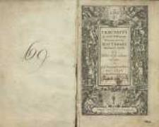 Tractatus de variis passionem nostril Jesu Christi meditandi modis
