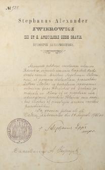 Annuendo petitioni incolarum coloeniae Rdzuchów
