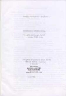 """Dokumentacja konserwatorska """"Św. Anna nauczająca Marię"""" połowa XVIII wieku"""
