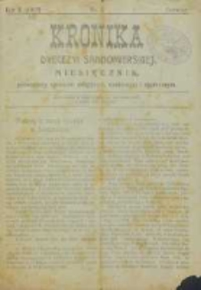 Kronika Diecezji Sandomierskiej, 1917, R. 10, nr 6