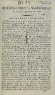 Korrespondent Warszawski, 1792, nr 31