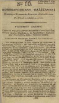 Korrespondent Warszawski, 1792, nr 66