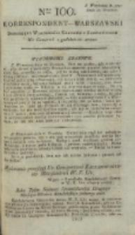 Korrespondent Warszawski, 1792, nr 100
