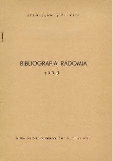 Bibliografia Radomia 1973