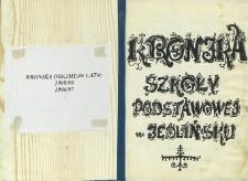 Kronika Szkoły Podstawowej w Jedlińsku