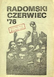 Radomski Czerwiec '76, 1981, [1981-03]
