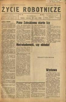 Życie Robotnicze, 1933, R. 11, nr 26
