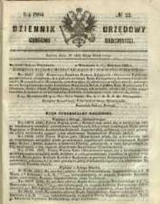 Dziennik Urzędowy Gubernii Radomskiej, 1864, nr 22