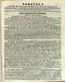Dziennik Urzędowy Gubernii Radomskiej, 1864, nr 45, dod. I