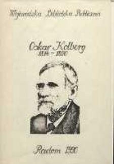 Oskar Kolberg 1814-1890. Bibliografia podmiotowo-przedmiotowa