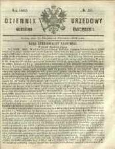 Dziennik Urzędowy Gubernii Radomskiej, 1865, nr 35