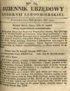 Dziennik Urzędowy Gubernii Sandomierskiej, 1837, nr 34